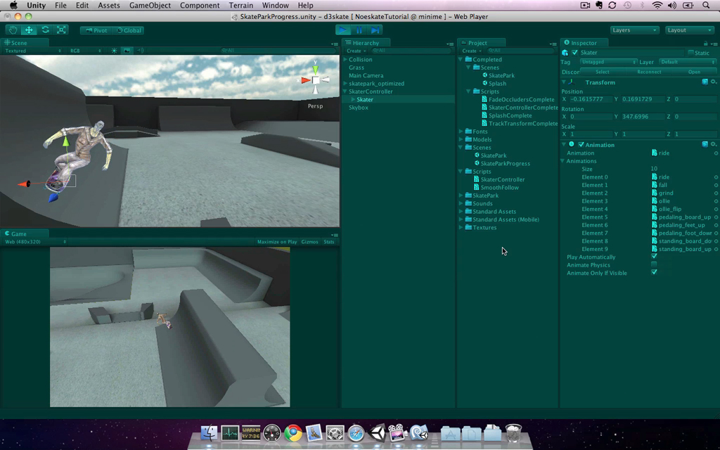 Unity Mobile Game Development released on design3 news