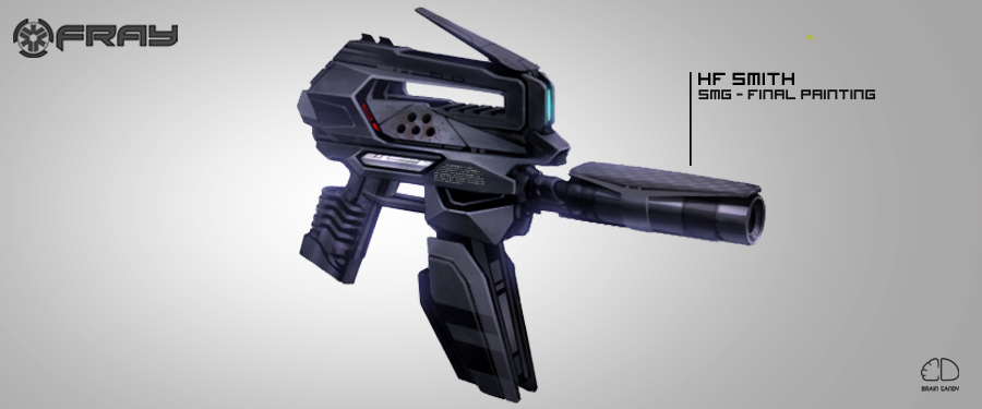 Into Fray >> Fray: In the future, guns go pew. (From Concept to Art, part deux) news - Mod DB