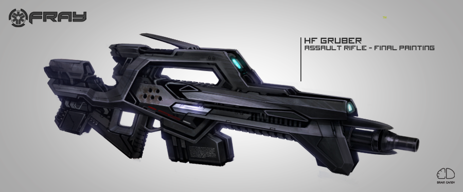 Fray: In the future, guns go pew. (From Concept to Art ...