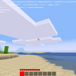 Volumetric clouds in Minetest