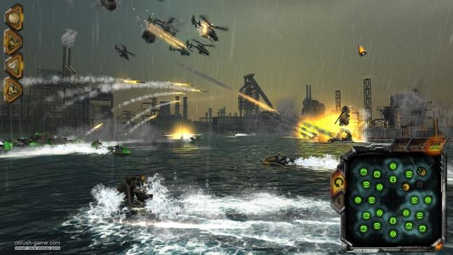 Unigine-powered Oil Rush naval strategy game