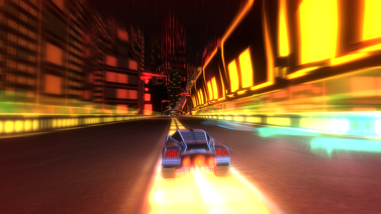 Nitronic Rush - Choochoo Chase Screenshot