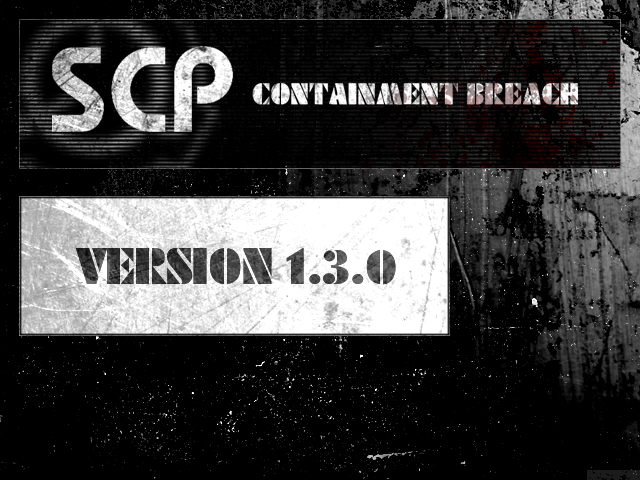 SCP - Containment Breach v1 3 0 file - Indie DB