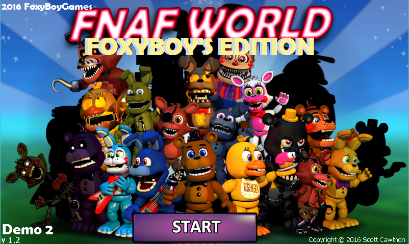 FNaF World FoxyBoy's Edition DEMO 3 file - Indie DB
