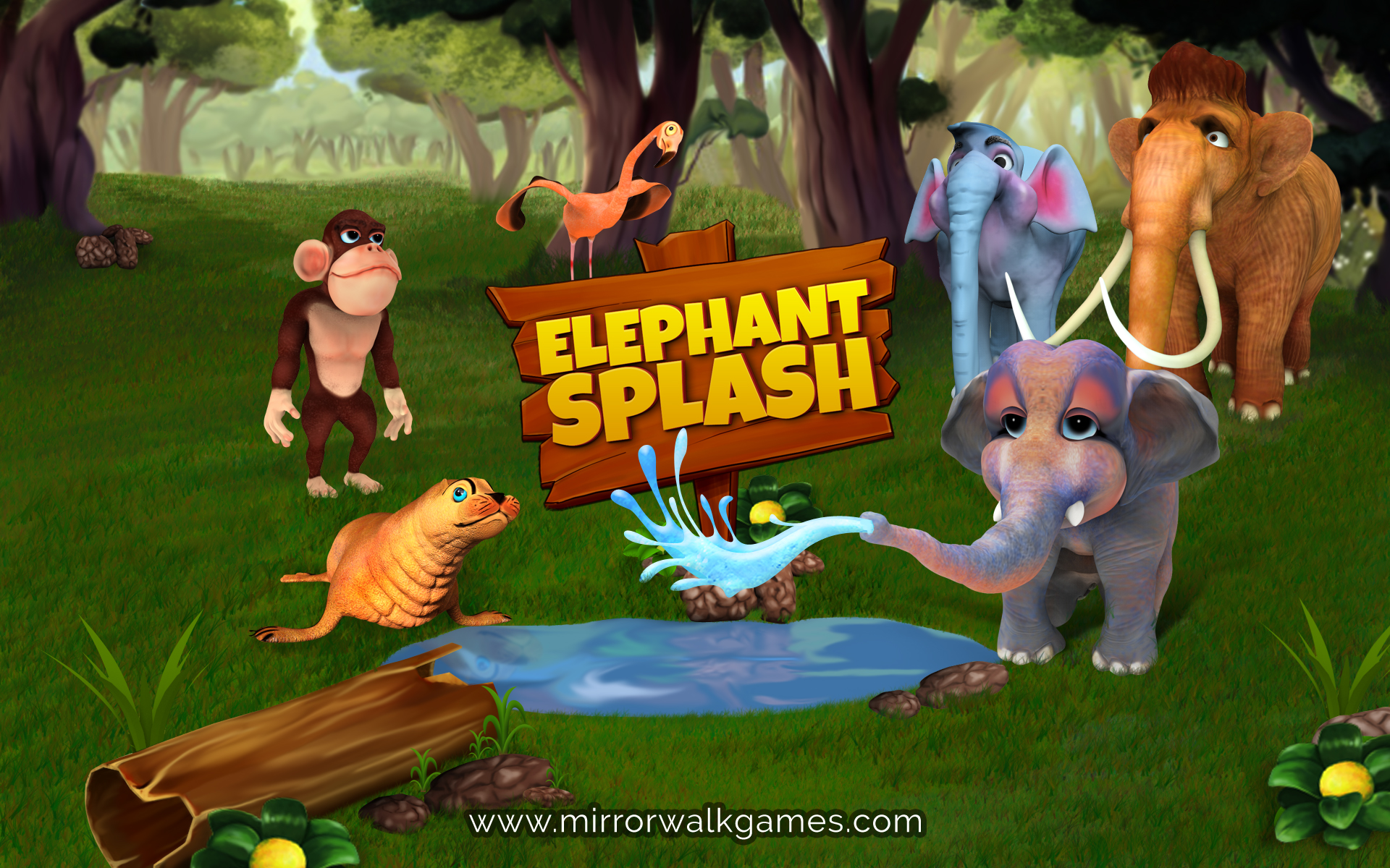 elephant splash game teaser file - Indie DB Elephant Games