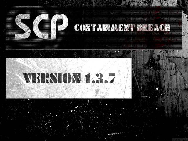 SCP - Containment Breach v1 3 7 file - Indie DB