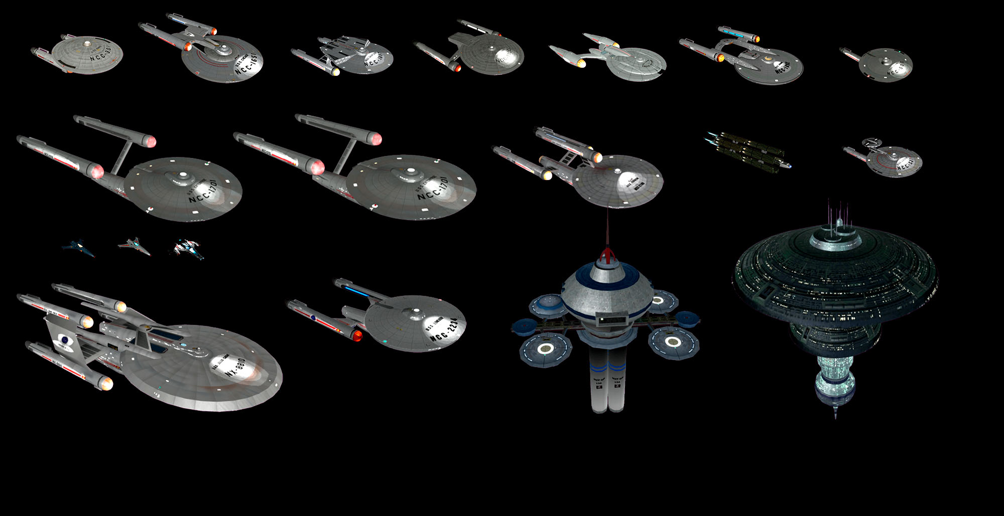 Polaris Sector Star Trek TOS Federation ships addon - Indie DB