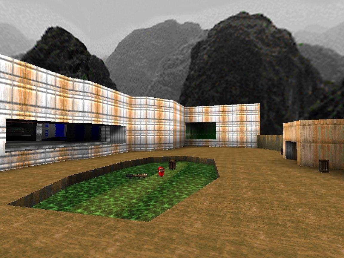 Doom e1m1 quake mix 6 2 addon - Dark Places engine team - Indie DB