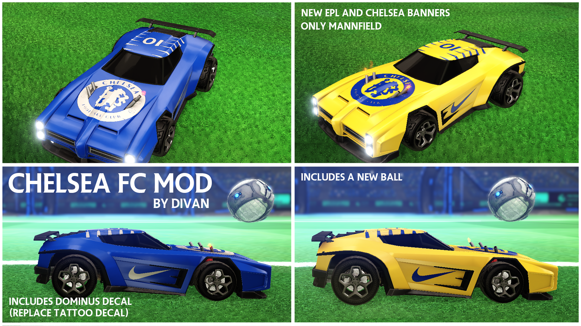 rocket league mods ps4 download