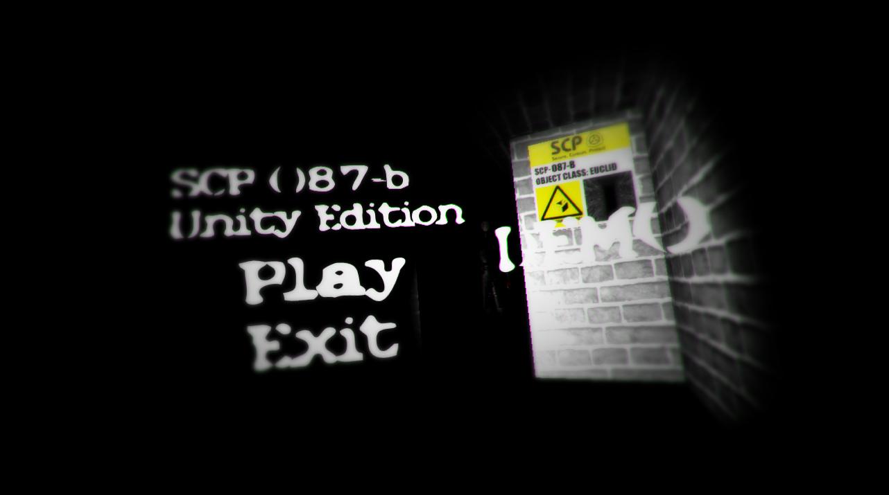 SCP-087-B Unity Edition DEMO file - SCP - Containment Breach