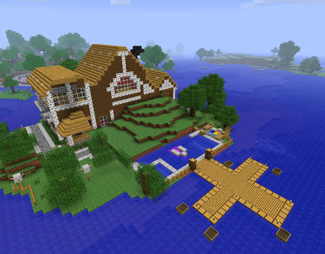 The House Texturepack Addon Minecraft Indie Db