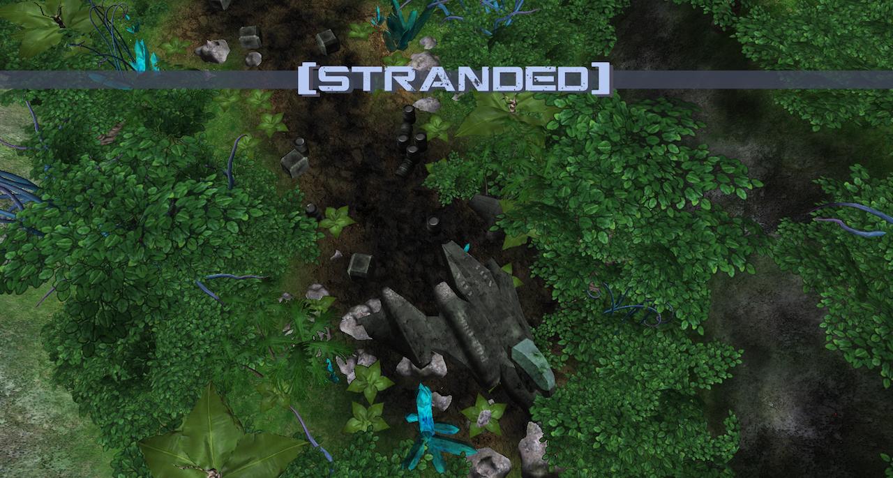 Stranded Crash Site