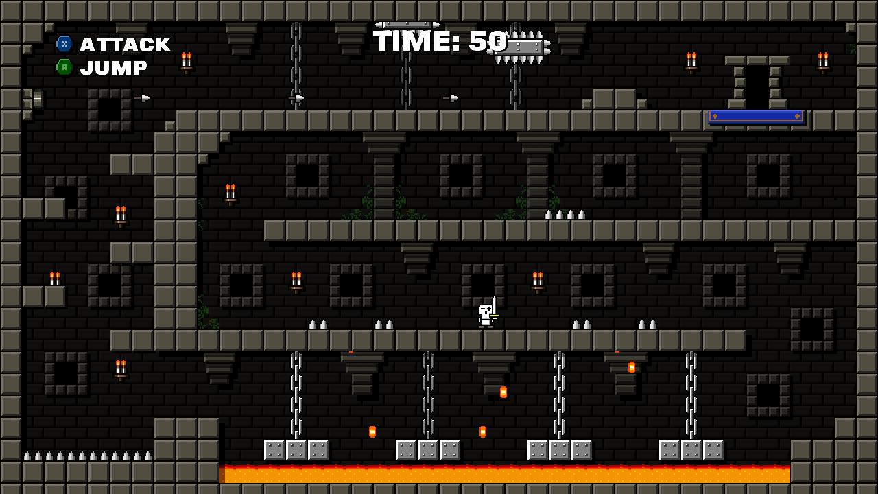Castle Of Pixel Skulls Demo File Indie Db