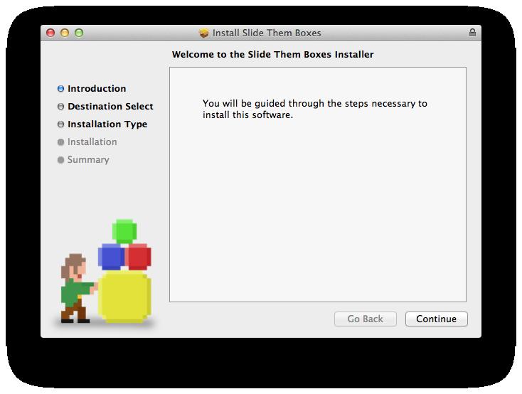 Slide Them Boxes - Mac OS X Installer file - Indie DB
