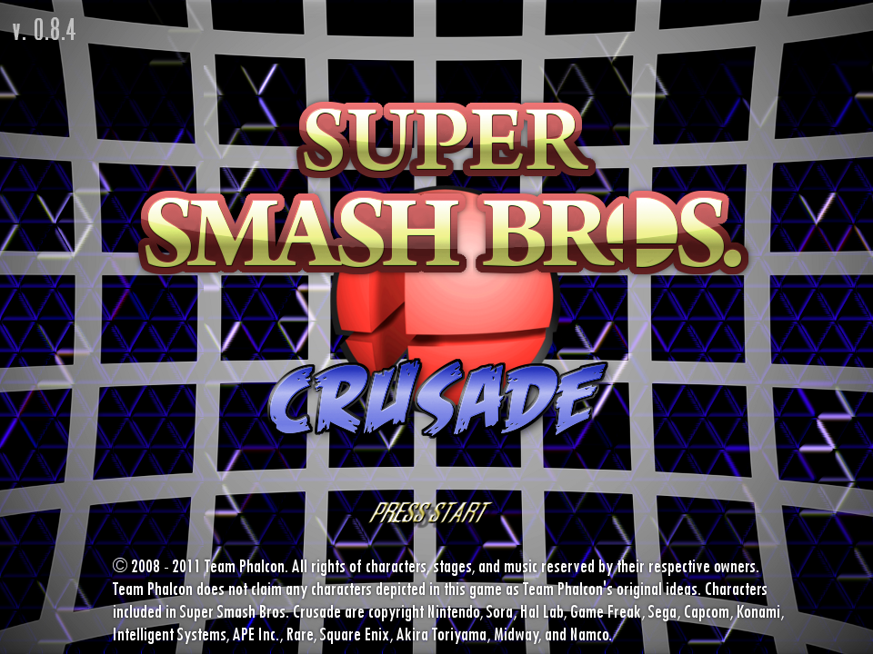 Super Smash Bros  Crusade 0 8 4 file - Indie DB