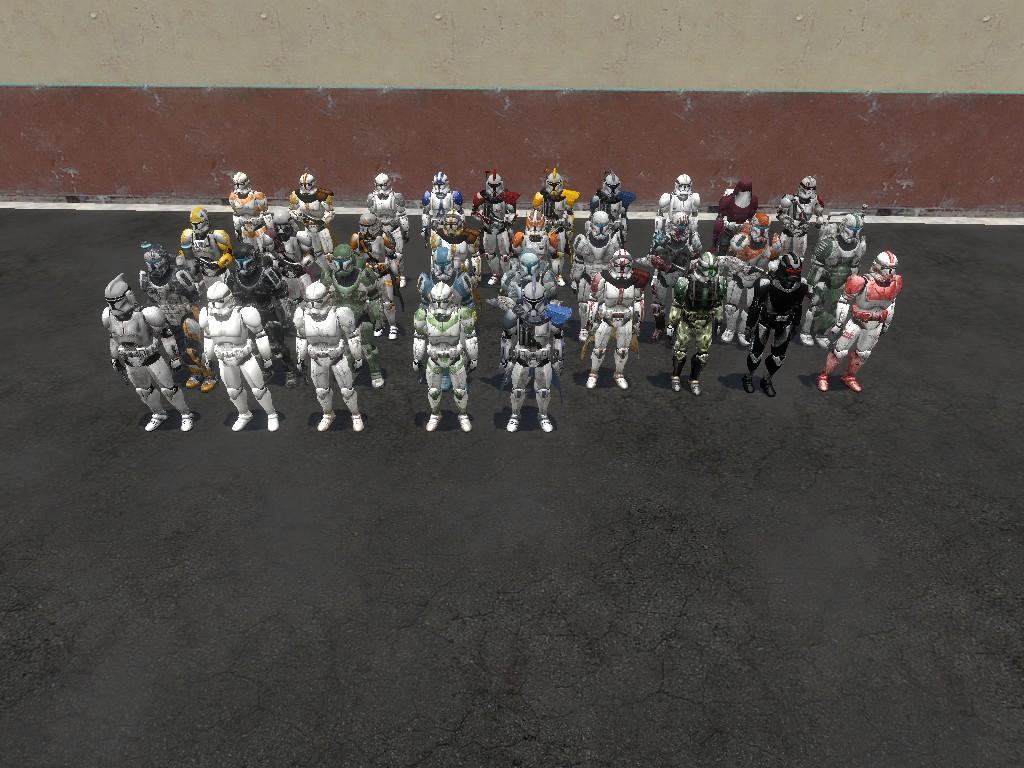 Star Wars Clone Trooper Snpcs v3 addon - Garry's Mod - Indie DB