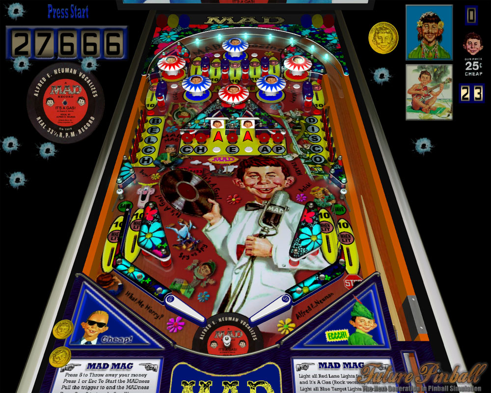 Mad Mag 1 10 addon - Future Pinball - Indie DB