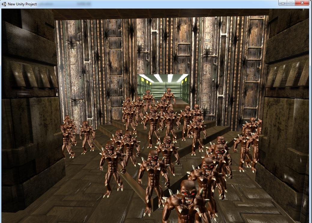 Unity performance test file - Doom 2 Remake - Indie DB
