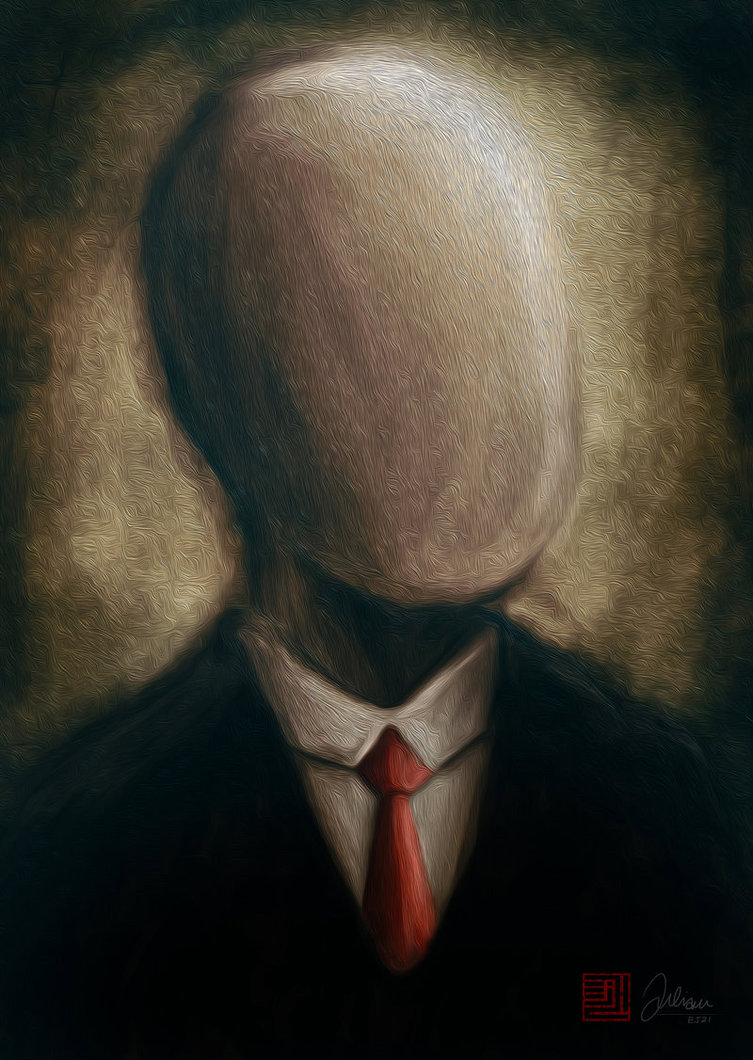 Картинка безликих людей