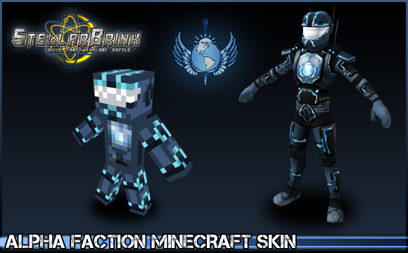 Alpha Faction Minecraft Skin Showoff