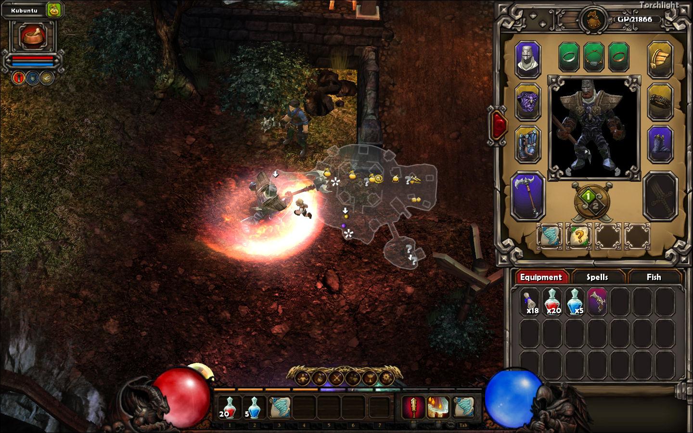 Diablo III Hud replacement addon - Torchlight - Indie DB