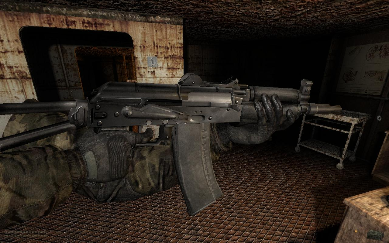 Все оружие в игре сталкер с картинками
