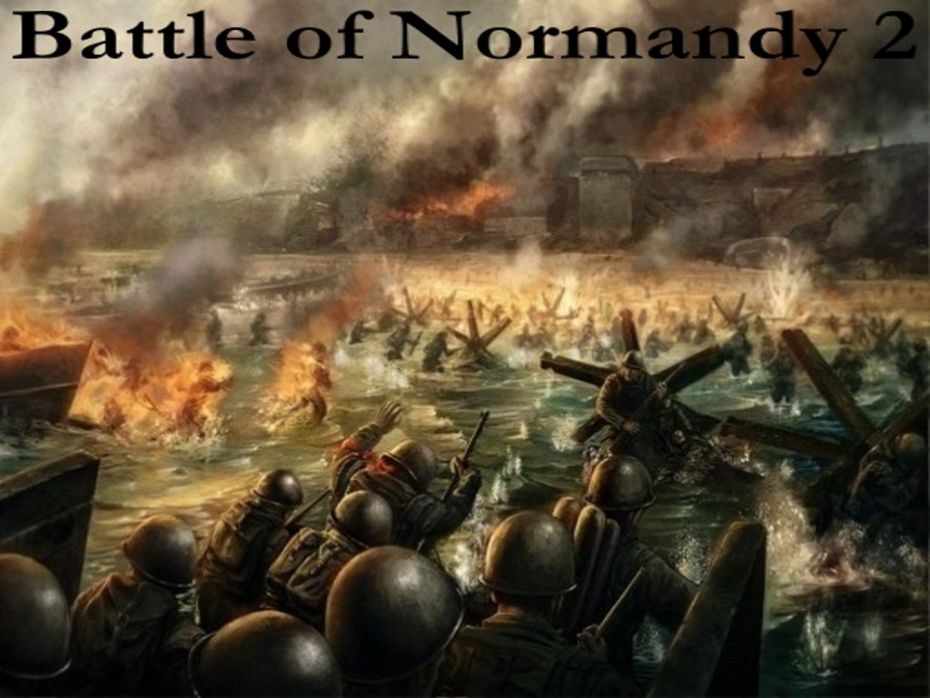 """the battle of normandy """"why don't we just pull right up to the beach, i mean we could get shot walking through the water"""" """"oh merde, there's been a mistake"""" the battle of normandy was fought under the name operation: sithlord in 1944 between the german forces occupying western europe, lead by feld-marshal gerd von."""