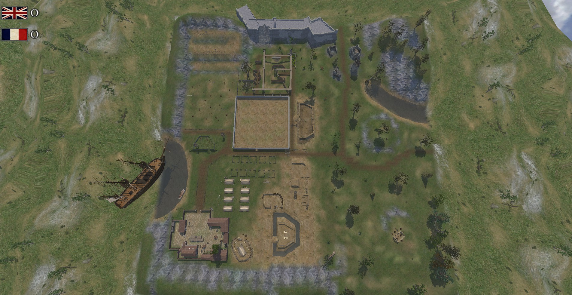 M&B NW 3rd Camp Training Map addon Mount & Blade Warband In DB