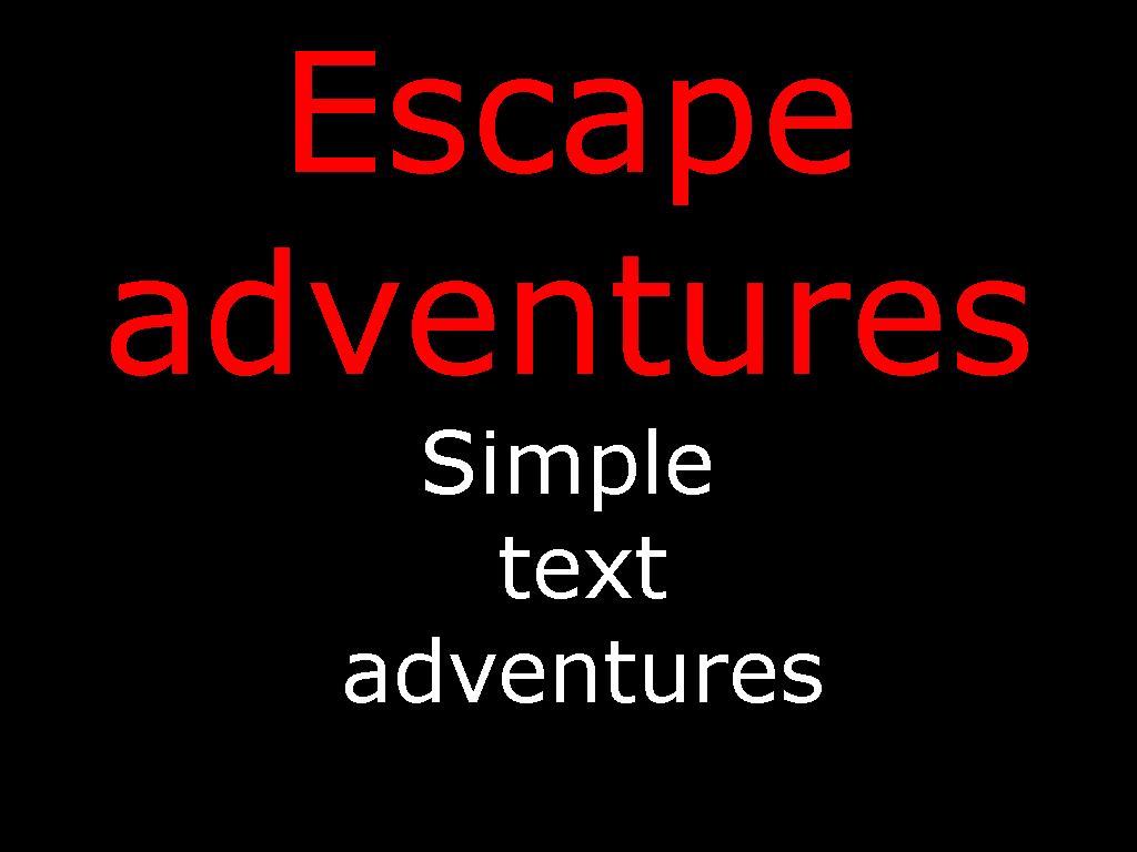 Windows- Escape Adventures part 1 DEMO