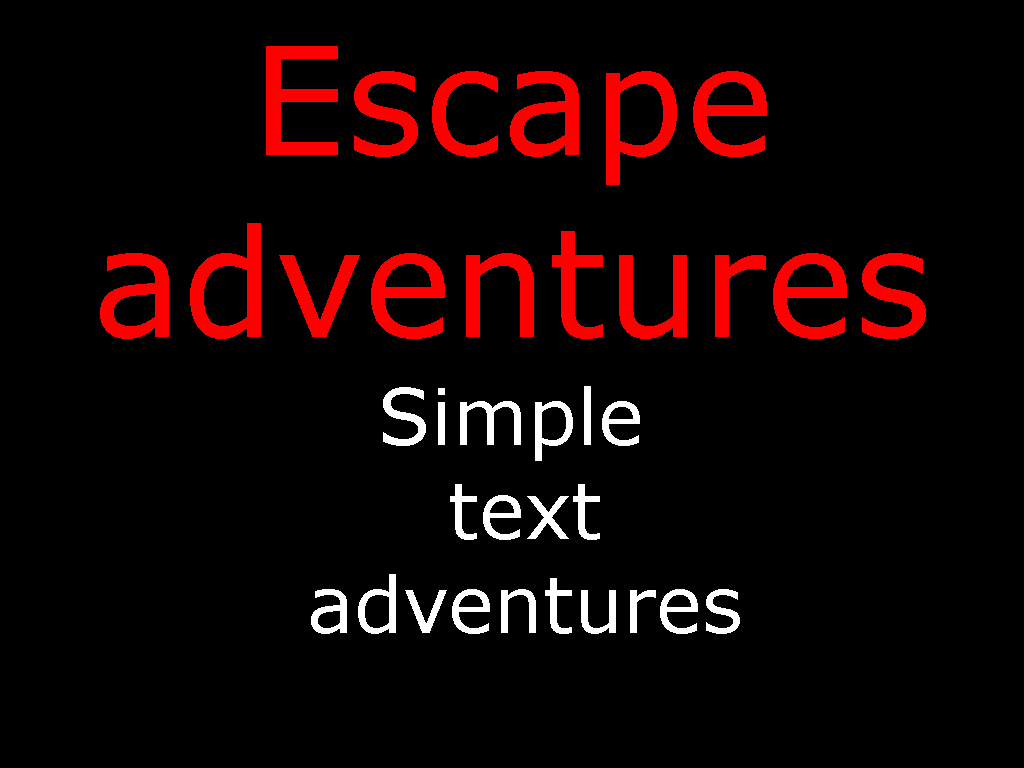 Mac OS X- Escape Adventures part 1