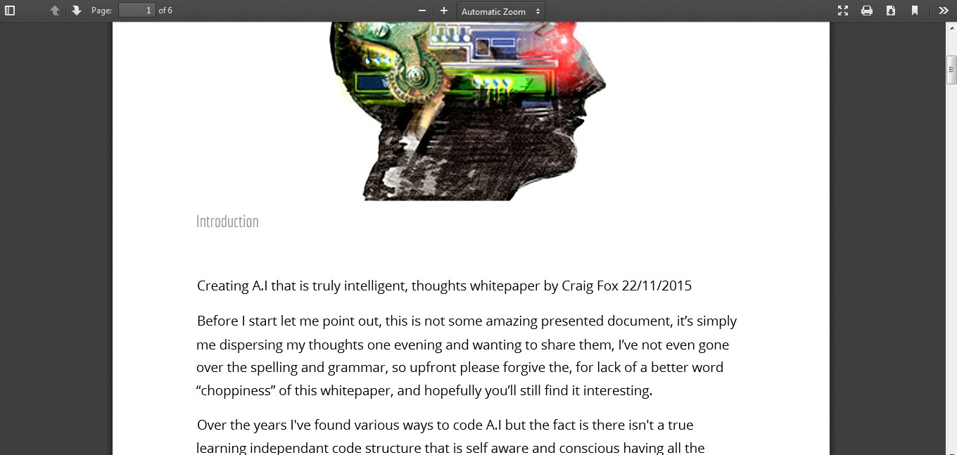 term paper on artificial intelligence
