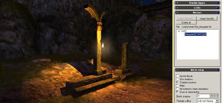 CPal3D Editor Screenshot