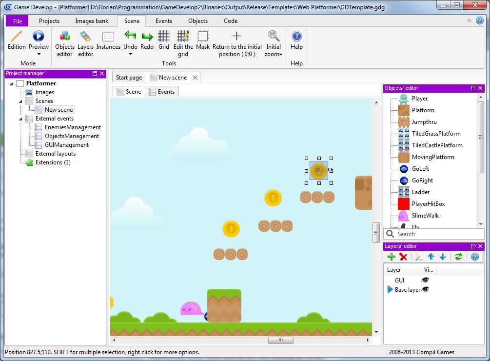 Game Develop engine - Indie DB