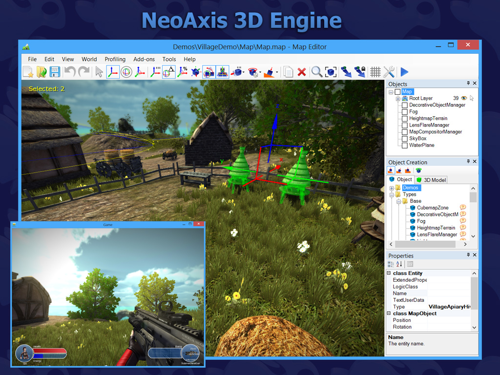 NeoAxis 3D Engine - Indie DB