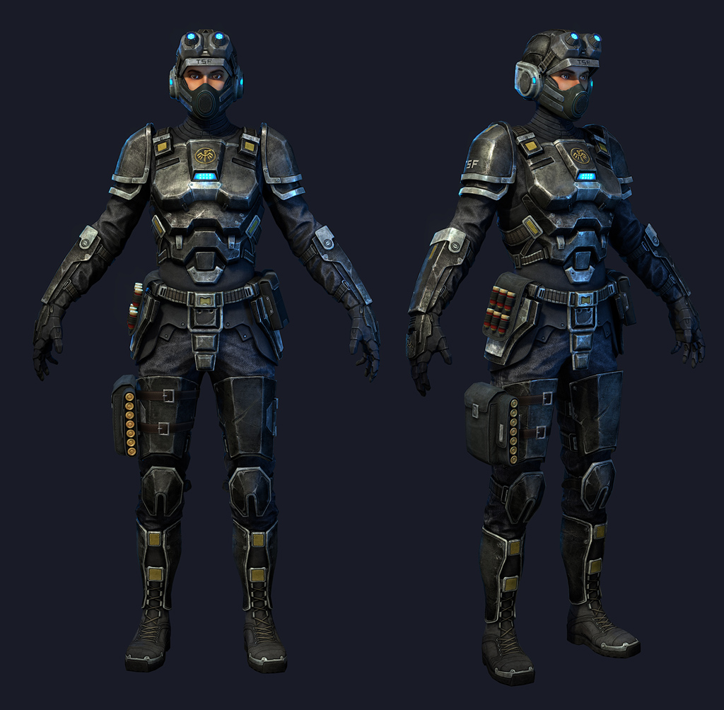 Natural Selection  Black Armor