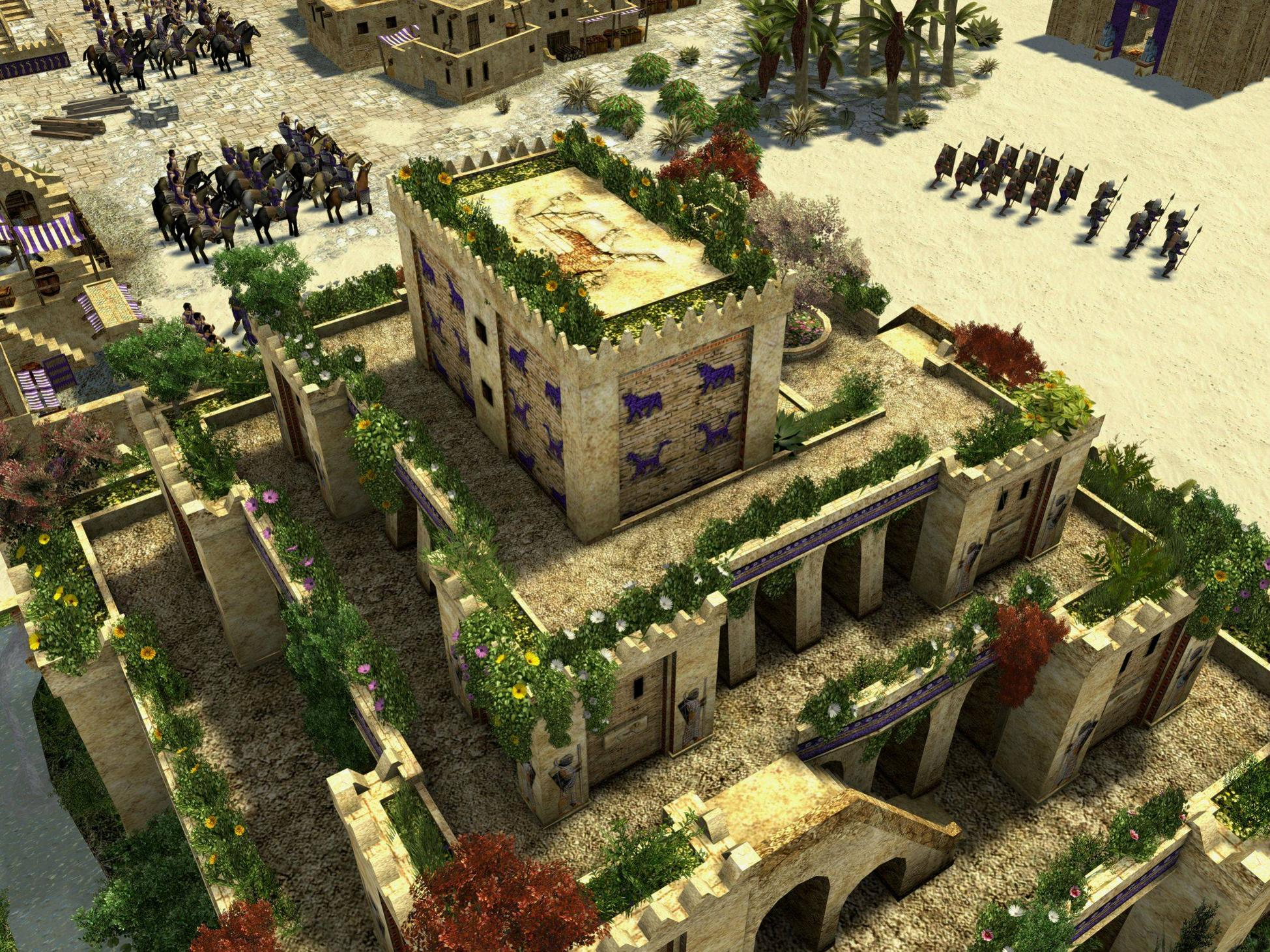 Who Made The Hanging Gardens Of Babylon – My Home Inspiration