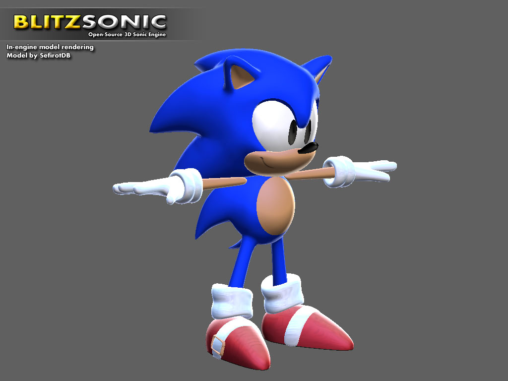 New Sonic model image - Indie DB