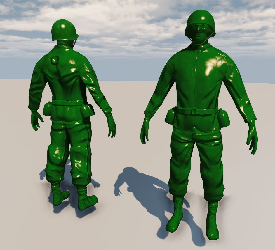 Media RSS Feed Report media New Plastic Shader  view original Army Men Png