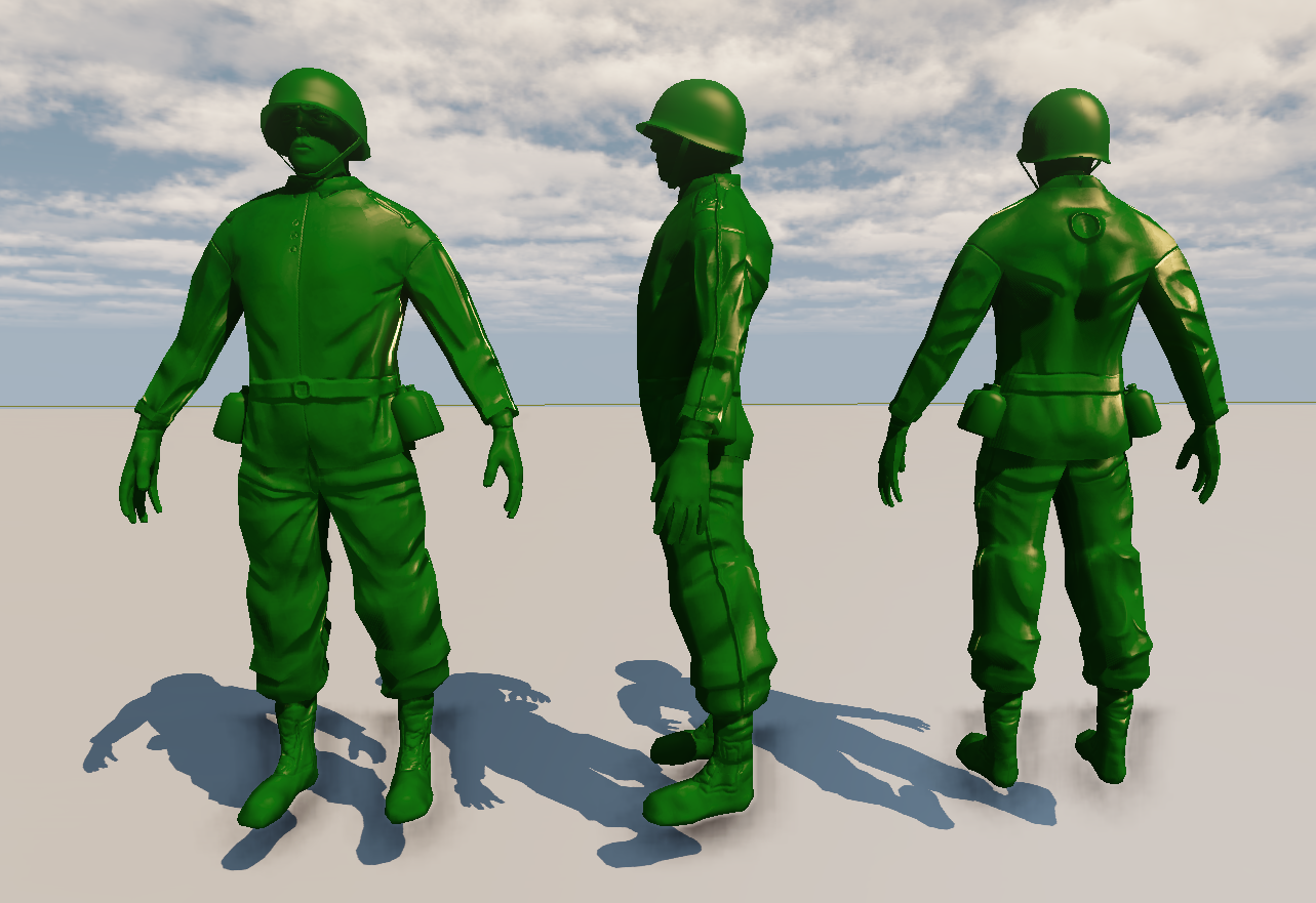 Media RSS Feed Report media Bloom Effect Applied  view original Army Men Png