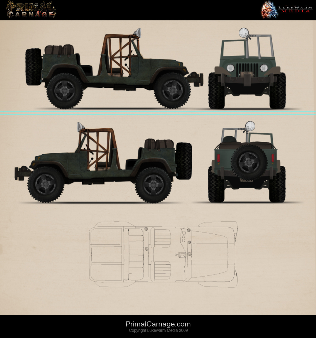 Primal Carnage Concept Art Image Indie Db
