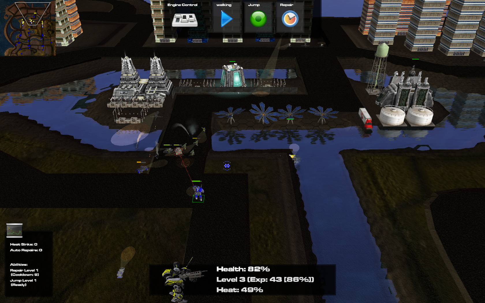 In game Screenshot - with new GUI