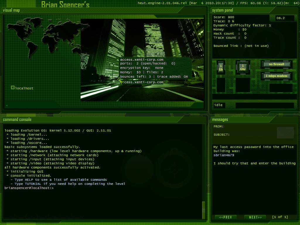Images - Hacker Evolution: Untold - Indie DB