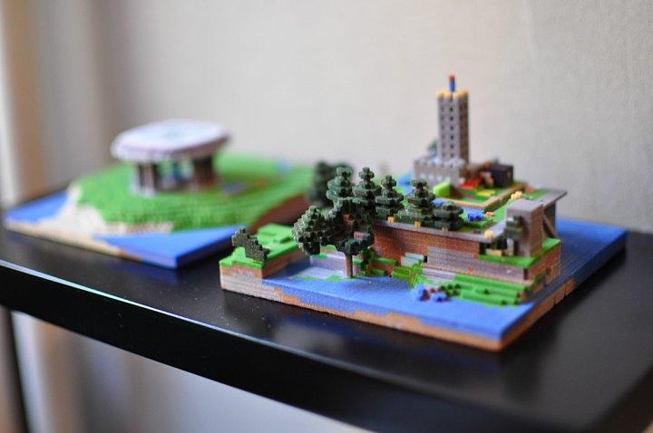 Minecraft 3d Prints Image Indie Db