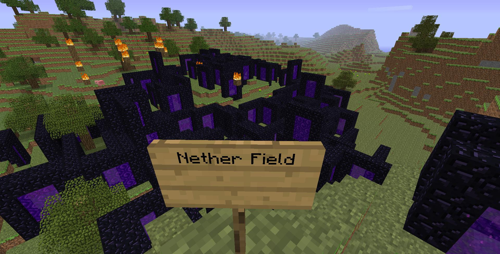 Nether Field Image Minecraft Indie Db