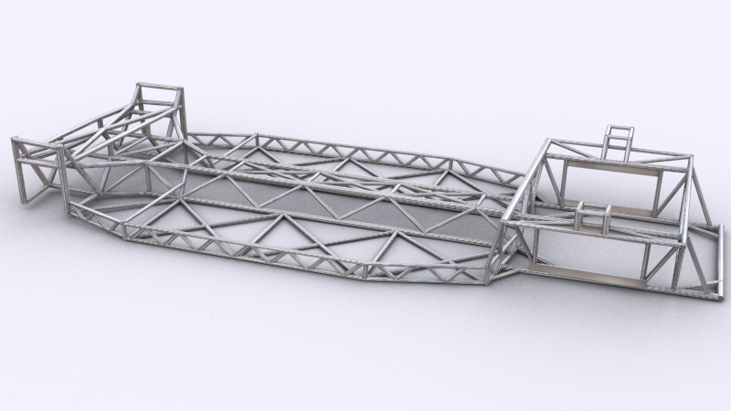 Spaceframe Chassis Render image - Automation: The Car Company Tycoon ...