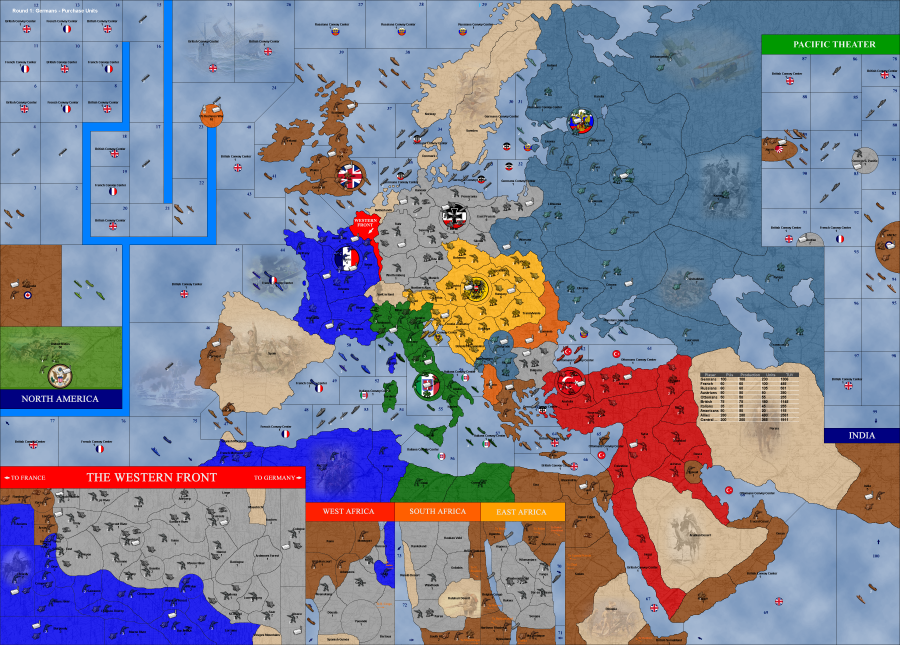 Great war map image triplea indie db add media report rss great war map view original gumiabroncs Choice Image