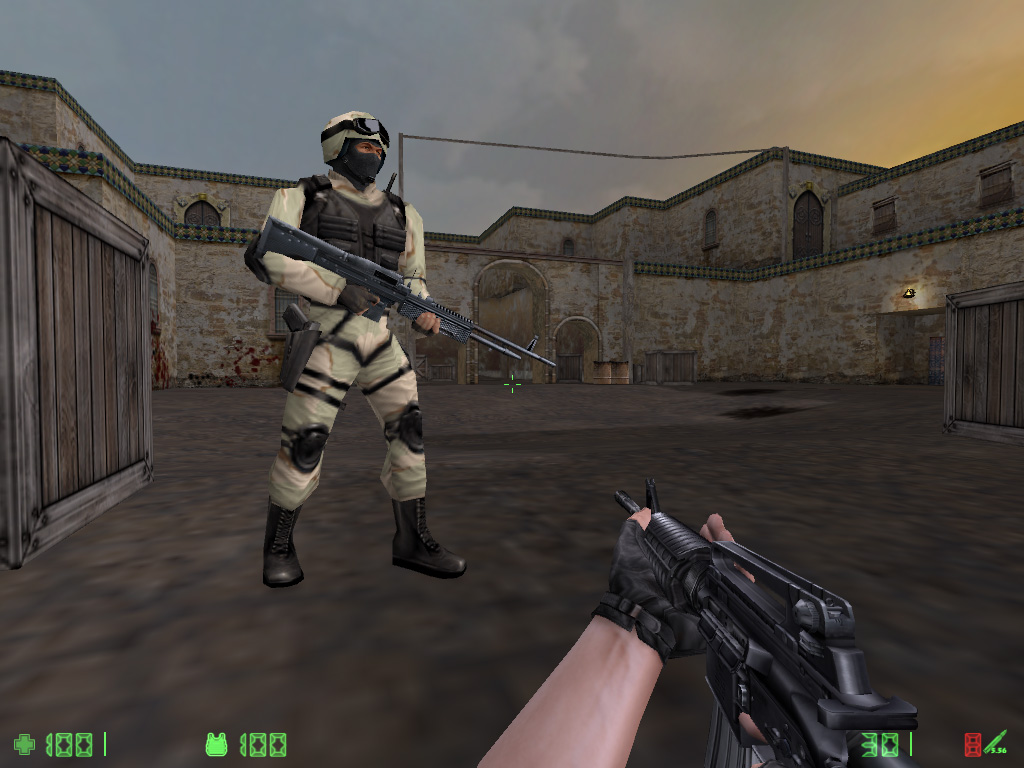Counter Strike Condition Zero Deleted Scenes Windows Xbox Game