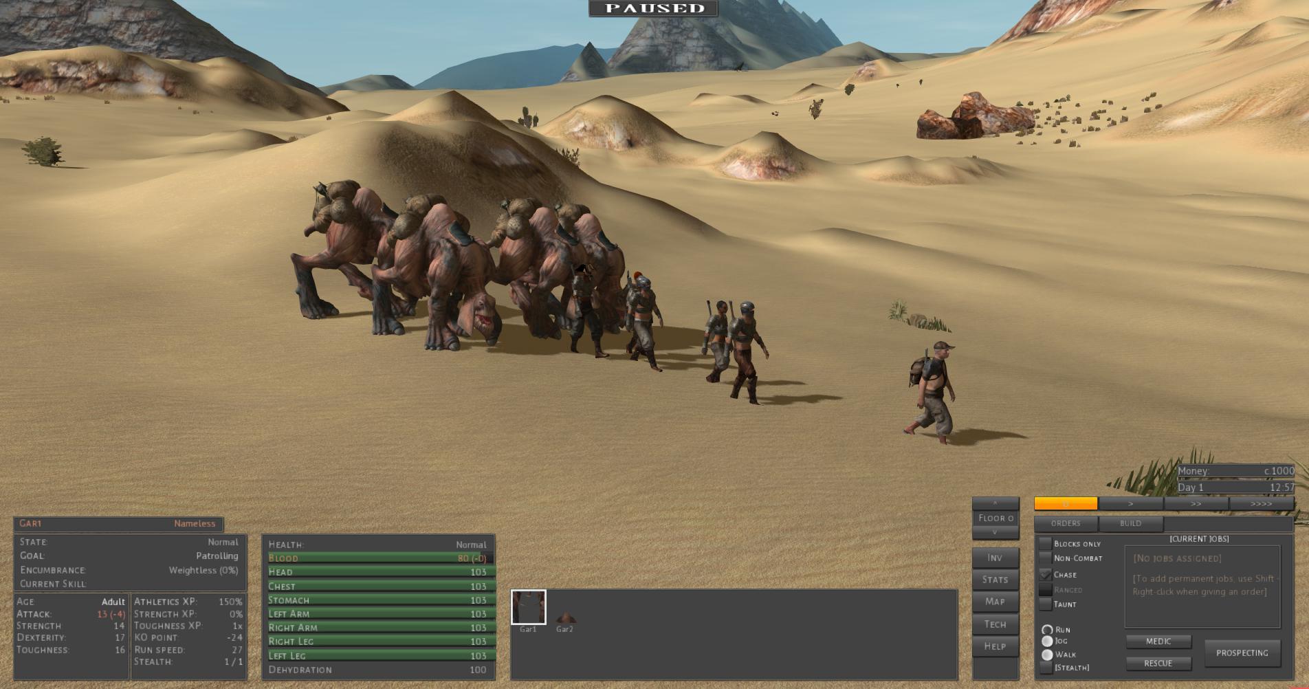 caravan game