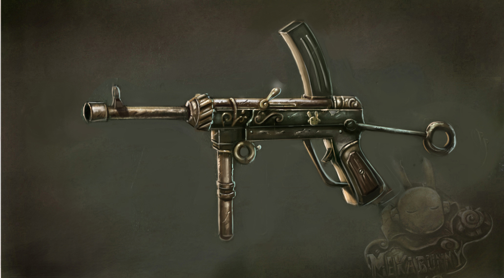 Media rss feed report media mekabunny weapon concept art