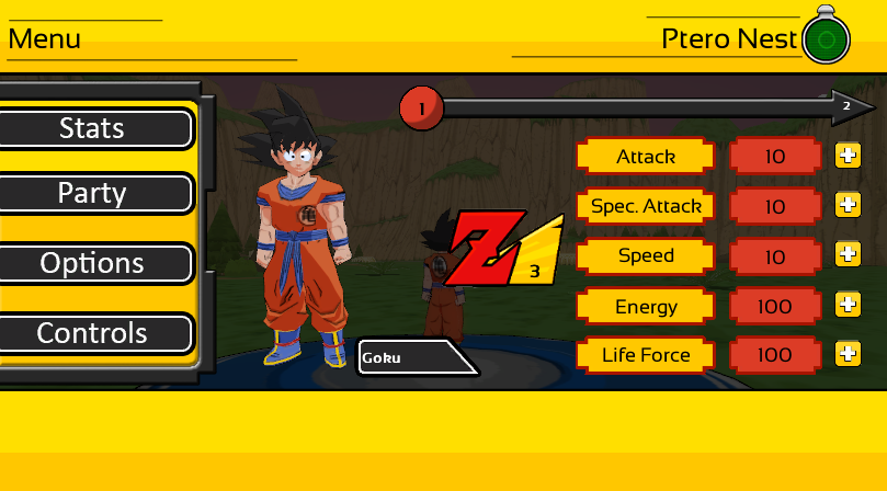 New GUI image - Z Warrior Chronicles - Indie DB